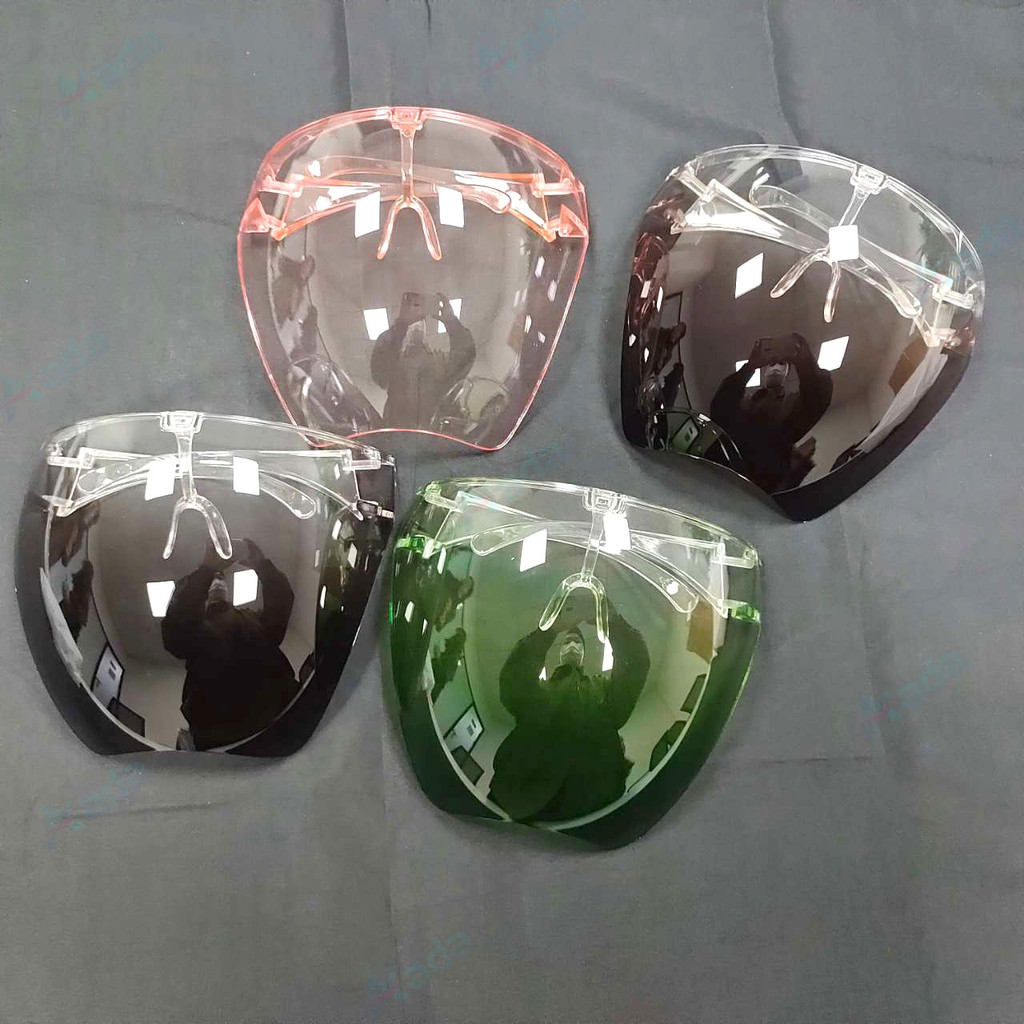 Mắt kính bảo vệ toàn khuôn mặt không bám hơi nước chống giọt bắn trong suốt