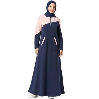 Đầm Dài Tay Thiết Kế Thanh Lịch Cho Phụ Nữ Hồi Giáo