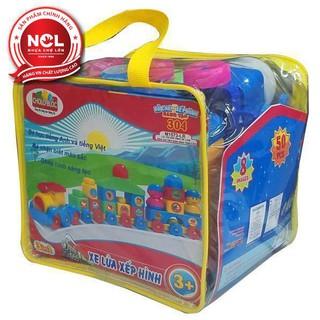 Đồ chơi xếp hình trẻ em Nhựa Chợ Lớn 304 – M1573-LR
