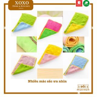 Khăn lau tay khăn lau bếp đa năng thấm hút tốt size 24x14cm thumbnail