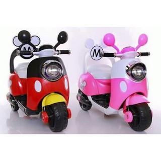 Xe máy điện trẻ em Vespa Mickey