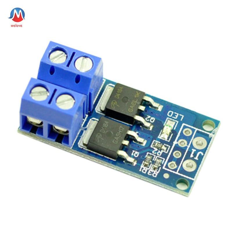 PWM Regulator Control Panel High Power Dual MOS Trigger