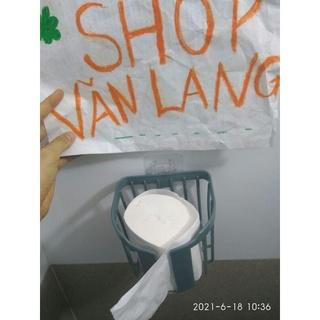 Giỏ đựng giấy vệ sinh bằng nhựa _ Màu ngẫu nhiên