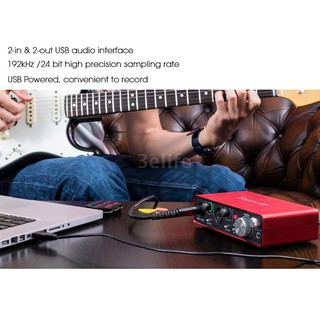 Focusrite Scarlett 2i2 2nd Generation 2-in/ 2-out USB Audio
