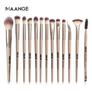 Hình ảnh MAANGE Bộ 13 Cọ Trang Điểm Sử Dụng Chuyên Nghiệp Make up Brush Set-3