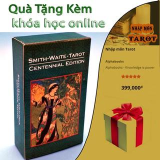 Bộ Bài Smith Waite Tarot Deck Cenennal Edition+Khoa học online