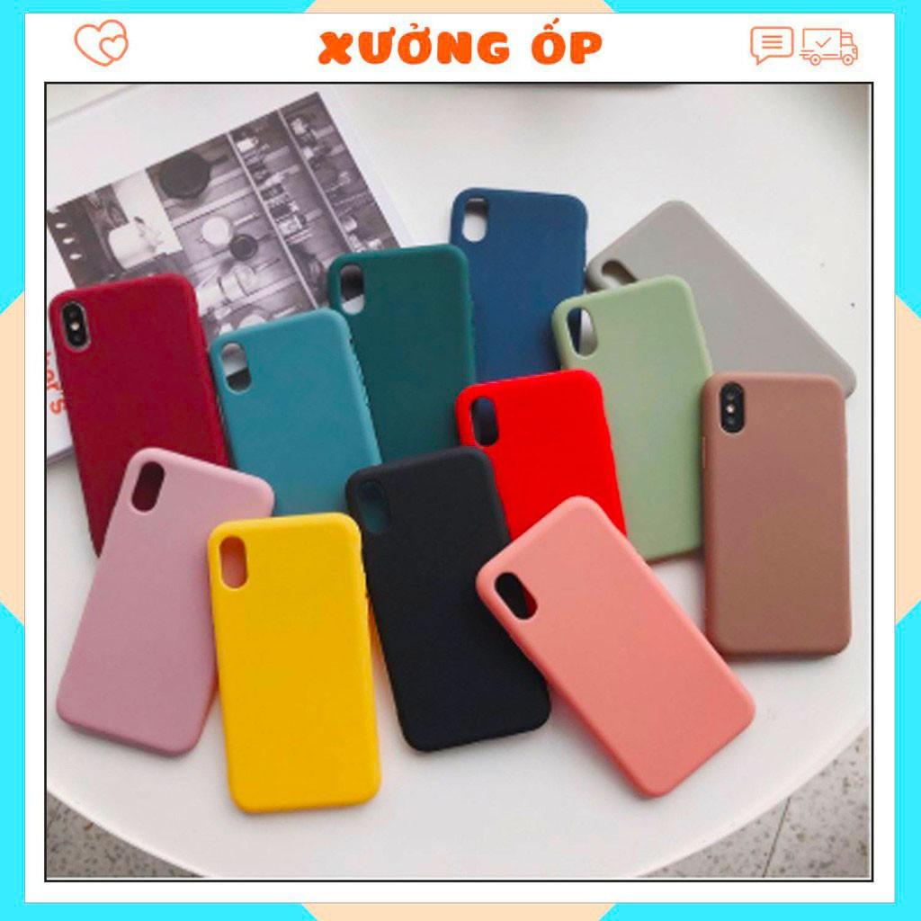 SAMSUNG dòng J  ốp TRƠN dẻo 5 màu - ỐP Samsung J2prime J4Plus J6 J6Plus J7Prime J7Pro J8 J4