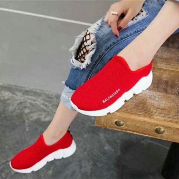 [HÀNG LOẠI 1] Giày Lười Thể Thao Nữ Trẻ Trung Năng Động [ẢNH THẬT]