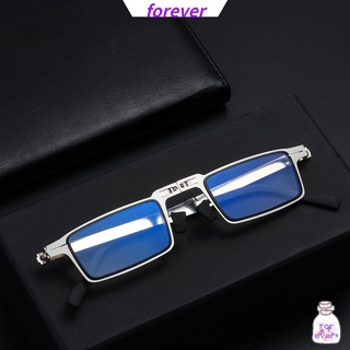 🌱FOREVER🌱 Fashion Foldable Reading Glasses Portable Readers Glasses with Case Blue Light Reading Glasses Anti UV400 Women Men Anti Eyestrain Compact Presbyopia Eyeglasses