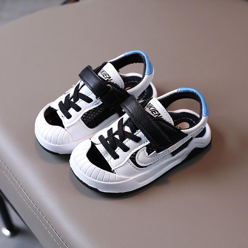 Sandal thể thao cho bé Sandal phong cách thể thao cho bé trai bé gái cá tính phong cách  Giày thể thao hở mũi cho bé