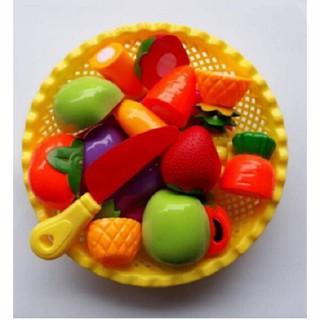 [HOT] Đồ chơi cắt hoa quả kèm rổ đựng đáng yêu cho bé – Toca Toys