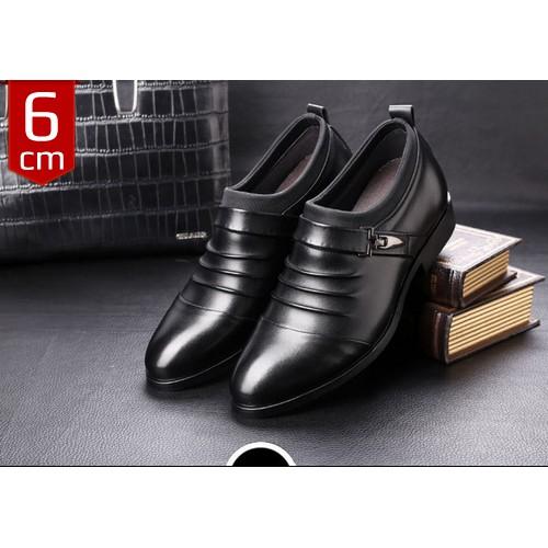 Giày công sở tăng chiều cao 6cm mã CS-21Đ