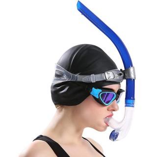 Ống thở POPO 1140 gắn giữa mặt hỗ trợ lặn biển, tập bơi đúng động tác, chất liệu cao cấp SPORTY