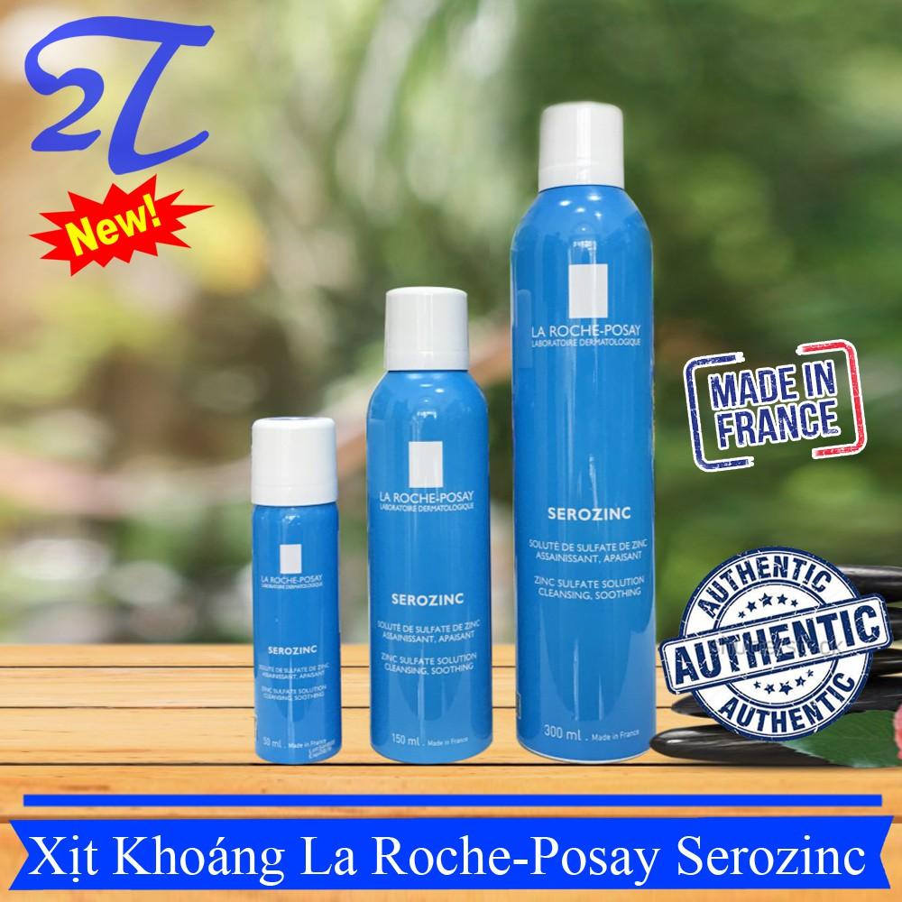 (Auth) Xịt khoáng da dầu mụn làm dịu da La Roche Posay Serozinc nước khoáng Sero Zinc