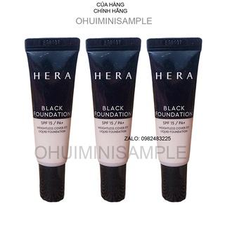 [Siêu phẩm mới] Tuýp kem nền siêu che khuyết điểm đẹp ko tỳ vết Hera Black Foundation 10ml thumbnail