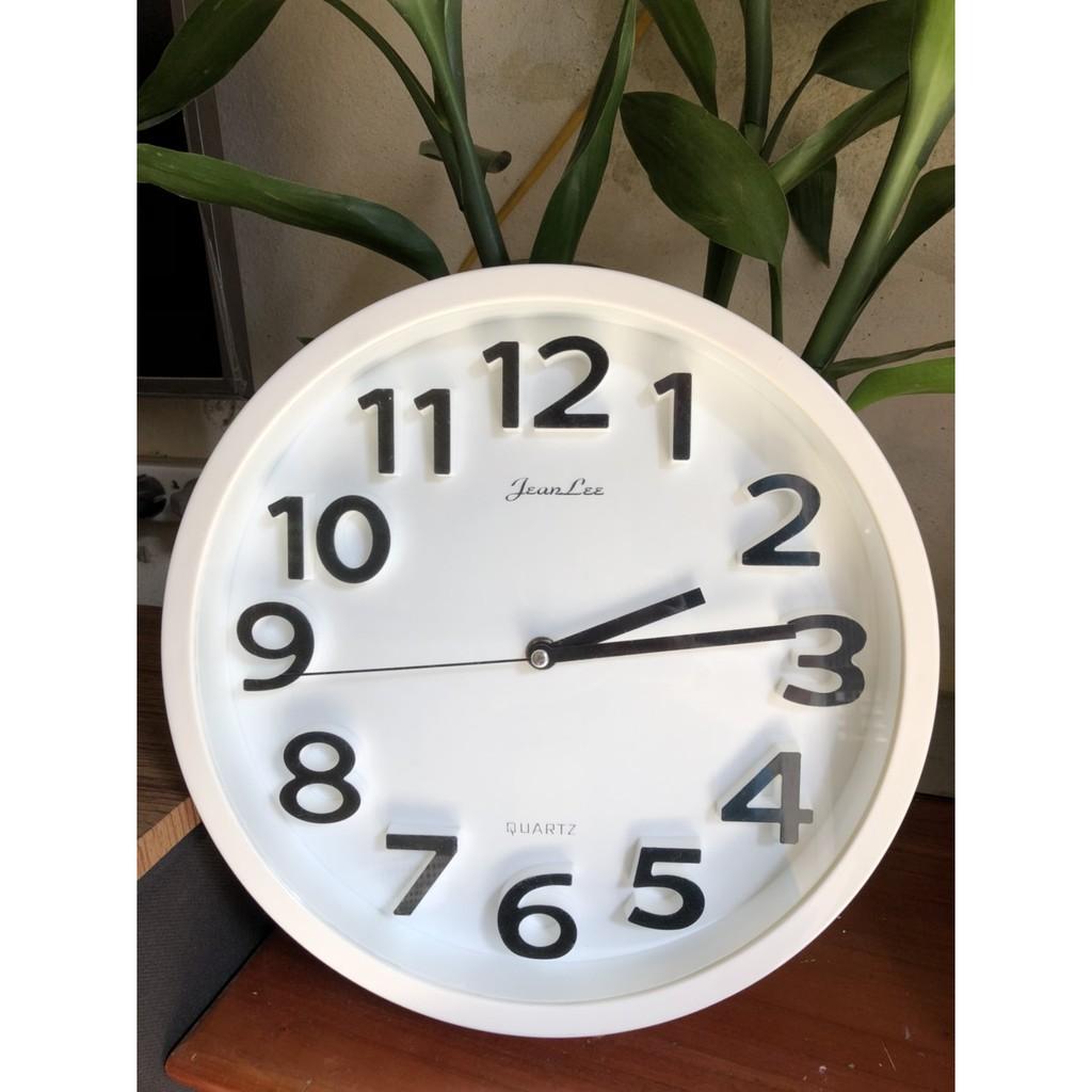 [ Hàng Chính Hãng ] Đồng hồ treo tường kim trôi  QUARTZ.