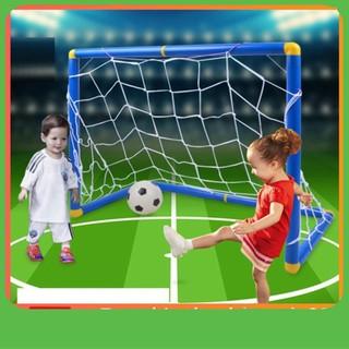 [SHIP NHANH] Bộ đồ chơi bóng đá và khung thành cao cấp cho bé yêu