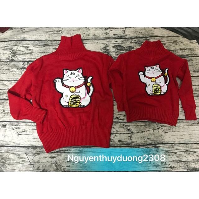 Set áo len mèo thần tài mẹ và bé - 3061738 , 846503666 , 322_846503666 , 450000 , Set-ao-len-meo-than-tai-me-va-be-322_846503666 , shopee.vn , Set áo len mèo thần tài mẹ và bé