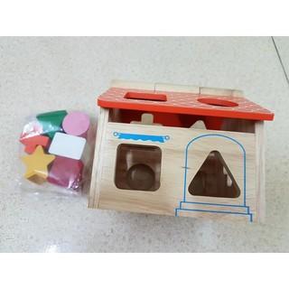 Đồ chơi Nhà thả gỗ thông minh – (Sale 50%)