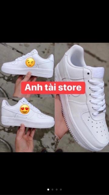 (⚡️Bản zep⚡️Ful bok tặng tất+quà⚡️) Giày thể thao,sneakers nam nữ trắng đế tăng chiều cao chống trơn,thoáng chân