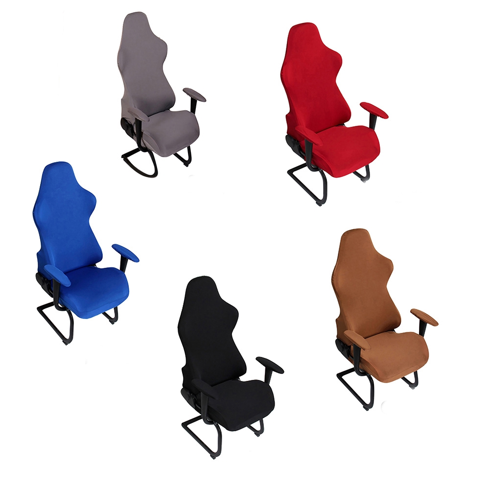 Washable Spandex Removable Protector Elastic Office Gaming Soft Chair Covers