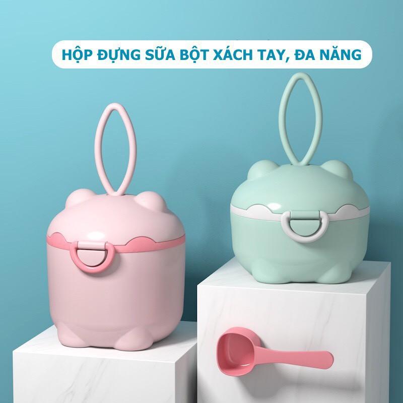 [Haobaby shop] Hộp đựng sữa chống ẩm Ankou - Hộp đựng sữa bột SETBETTER
