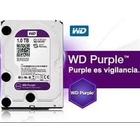 Ổ cứng WD 1TB Tím chuyên dùng cho camera