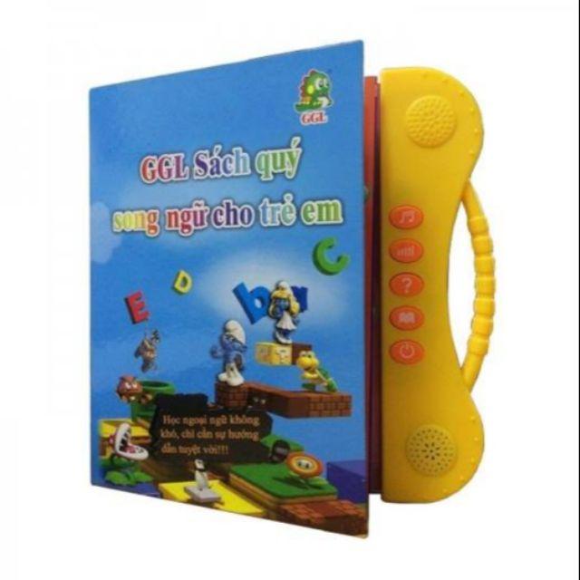 Combo 10 sách nói song ngữ cho trẻ em