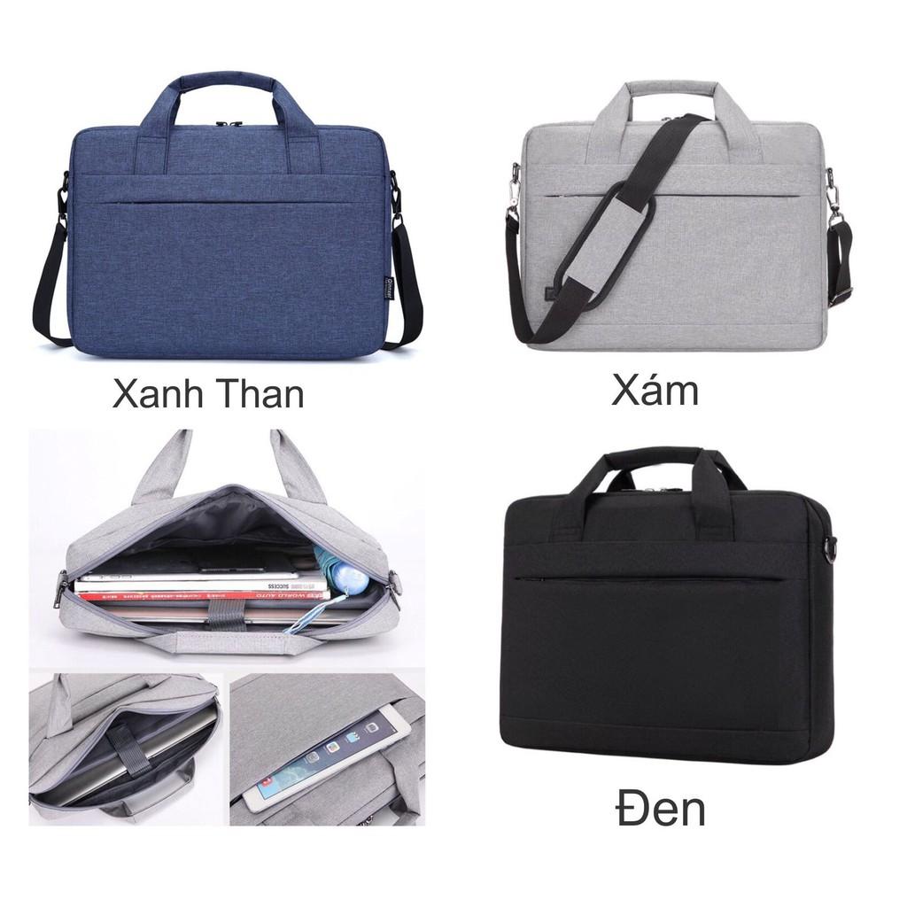 Túi đựng laptop cặp văn phòng công sở chống thấm nước cao cấp size to đựng vừa laptop 15.6 inch