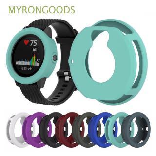 Ốp khung silicone bảo vệ mặt kính đồng hồ thông minh Garmin Vivoactive 3