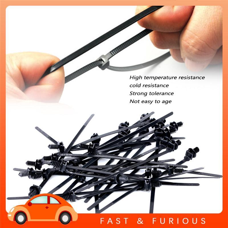 UU Bundling Belt Lock Tie Universal Cars Field Fastening Auto Accessories