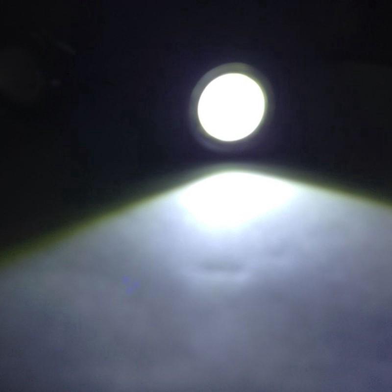 1 Đèn Led Cảnh Báo Ban Ngày 21mm 12v 9w 6000k Cho Xe Hơi