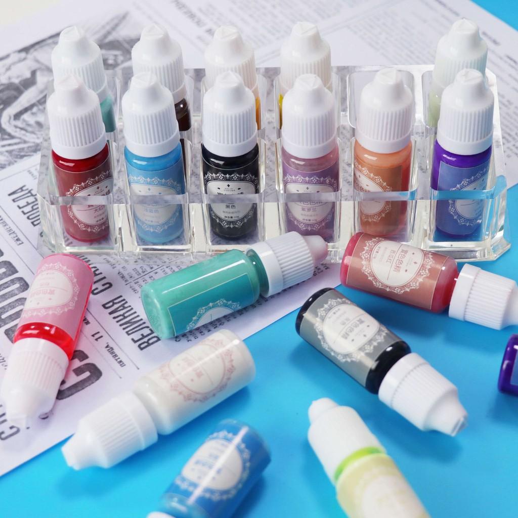 Màu Đục Pha Resin AB, Resin UV (chống tia UV)