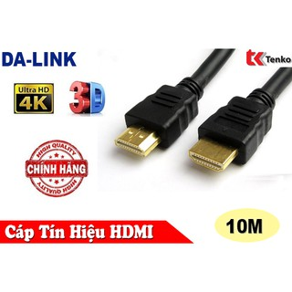 Cáp HDMI 10M Chính Hãng DA-LINK