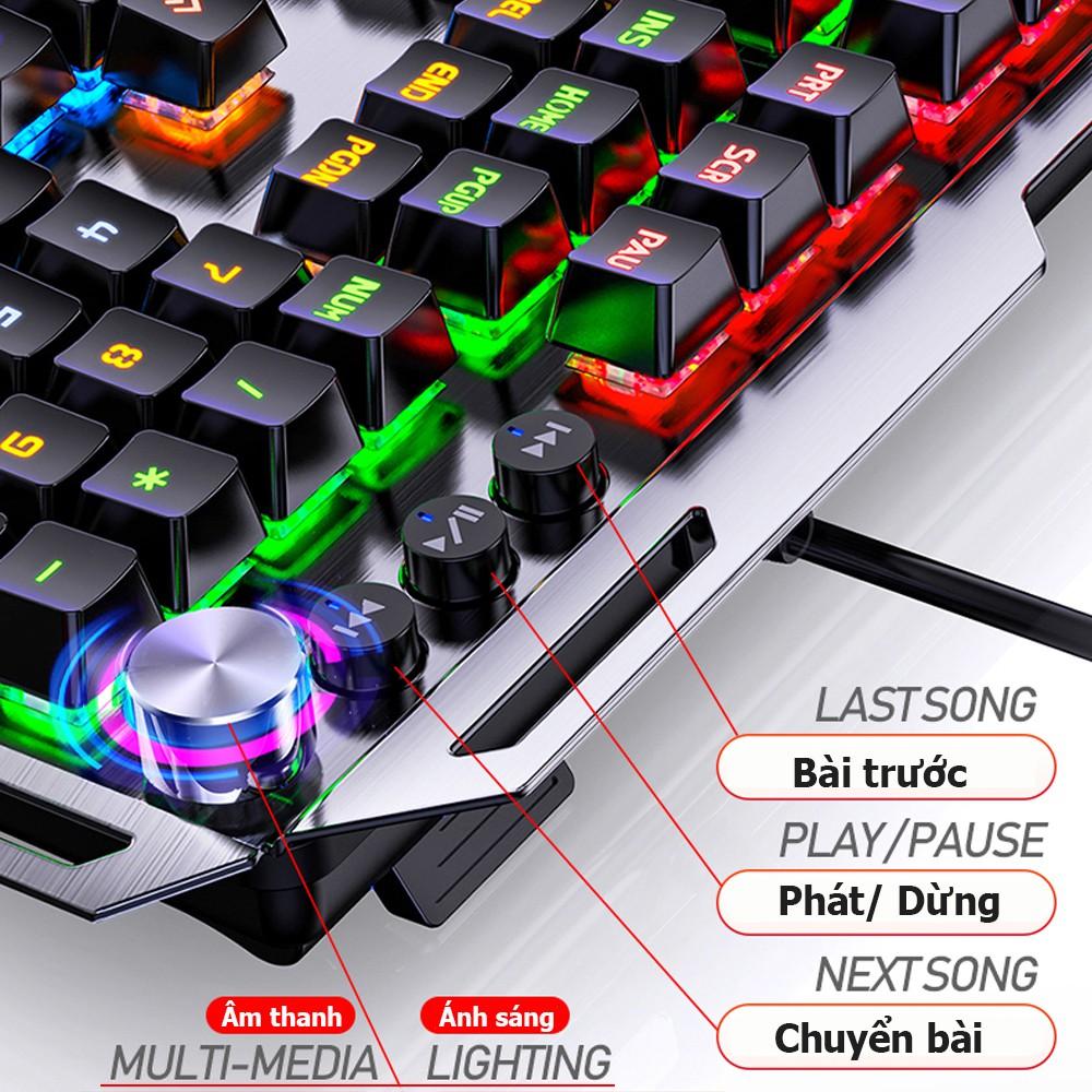 Các phím chức năng Bàn phím cơ Gaming K100 Full LED