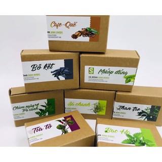 Sinh Dược-Xà bông Organic hữu cơ thảo mộc tự nhiên xà bông cục thiên nhiên sạch khuẩn mụn lưng mặt soap tự nhiên handmad thumbnail