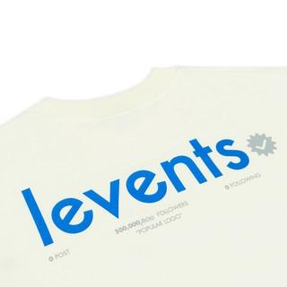 Hình ảnh Áo thun LEVENTS Popular Logo/ Cream Blue-5