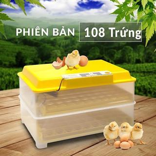 Máy Ấp Trứng Ánh Dương 108 Trứng – Tự Động Hoàn Toàn – Lắp Ráp Sẵn – Tặng vitamin dành cho gà