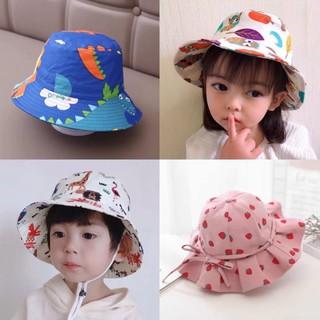 Kids_mart: Mũ vải hè cotton thời trang cho bé
