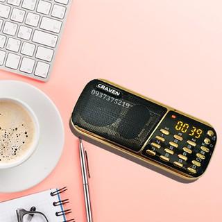 Loa Craven CR-853 3 PIN nghe cực lâu, nghe nhạc thẻ nhớ, USB, FM Chính Hãng thumbnail