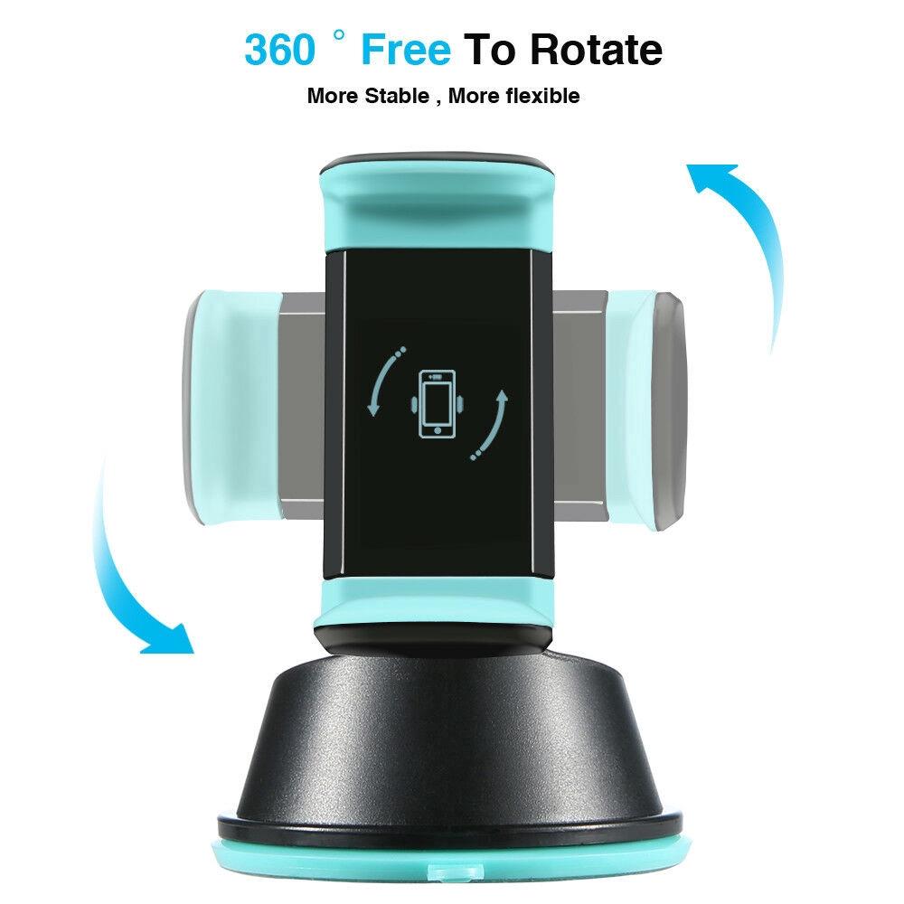 Giá Đỡ Điện Thoại Xoay 360 Độ 3 Trong 1 Cho Xe Hơi