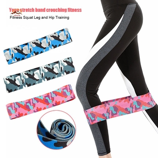 XQ Hip Glute Elastic Resistance Bands Booty Strap Anti Slip for Home Fitness Yoga Sports @VN