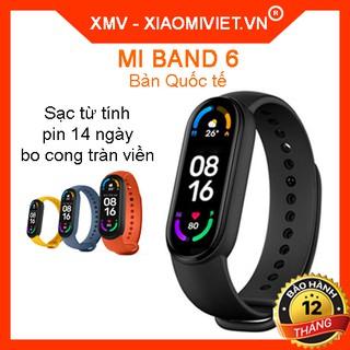 Mi Band 6 vòng đeo tay theo dõi sức khỏe của Xiaomi HOT năm 2021 - Bản quốc tế Hàng chính hãng BH 12 tháng thumbnail