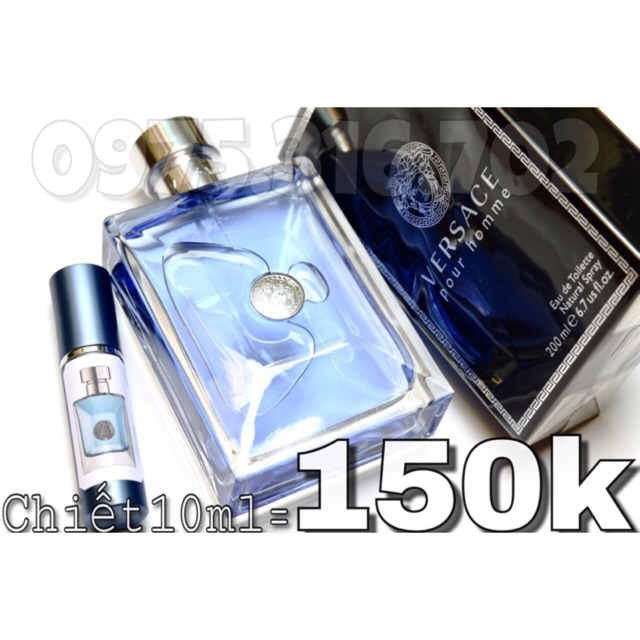 Chiết 10ml Versace Pour Homme