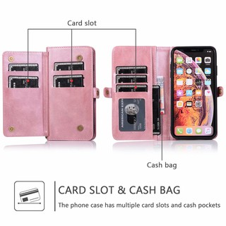 Ốp Điện Thoại Nhiều Ngăn Đựng Thẻ Tiện Dụng Cho Iphone Xs Max 11