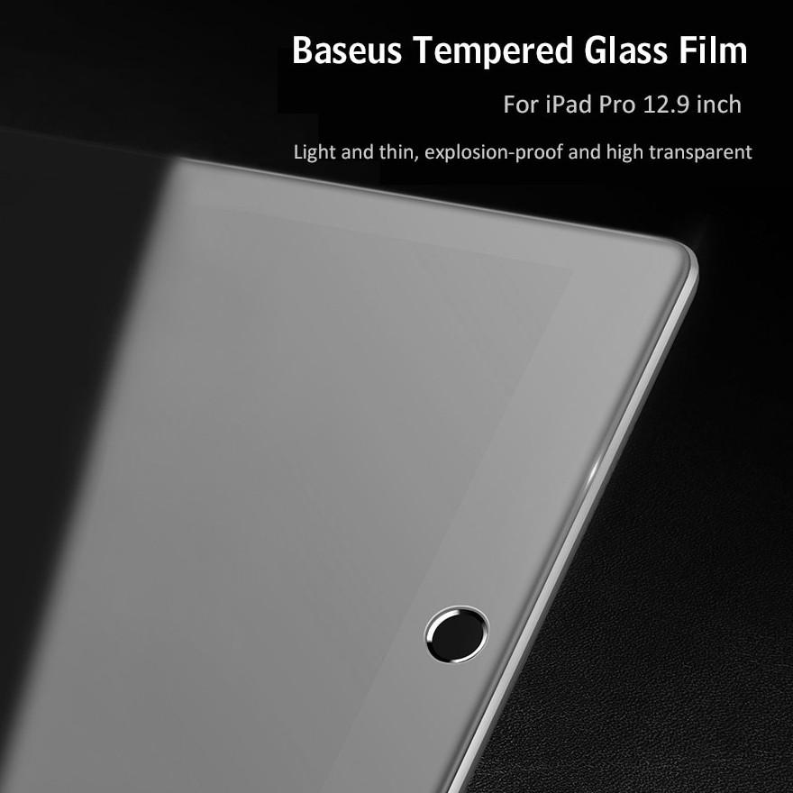 Kính cường lực full màn hình, chống trầy, siêu nét cho iPad Pro 12.9 inch