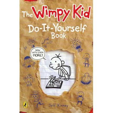 Truyện Ngoại văn Tiếng Anh: Diary Of A Wimpy Kid: Do-It-Yourself - Bìa mềm, nhập khẩu UK, mới 100%