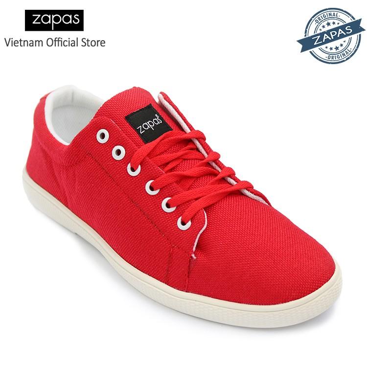[Freeship] - Giày Sneaker Zapas Classcial GZ008 (Đỏ) - Hãng Phân Phối Chính Thức