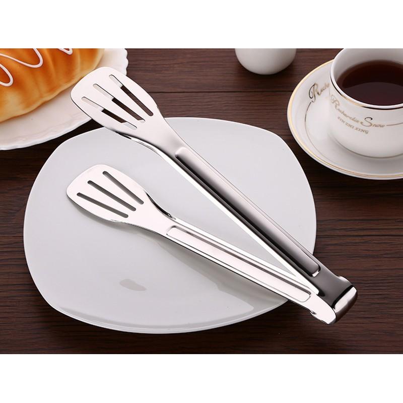 Kẹp gắp thức ăn bằng inox cao cấp (24cm & 30cm)