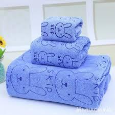 Set 3 khăn nhà tắm sợi cotton
